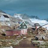 The beautiful settlement Tiniteqilaaq in East Greenland