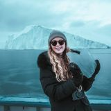 Sightseeing by boat from Ilulissat in Disko Bay
