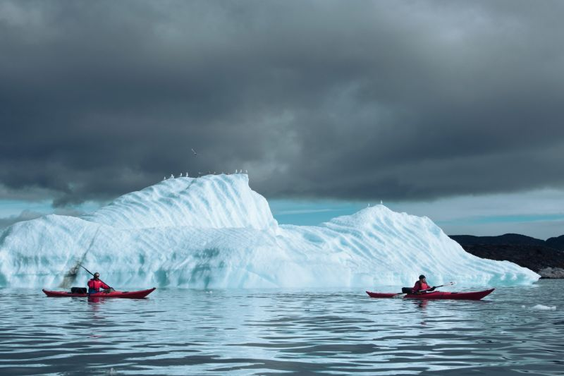Explore Disko Bay by kayak