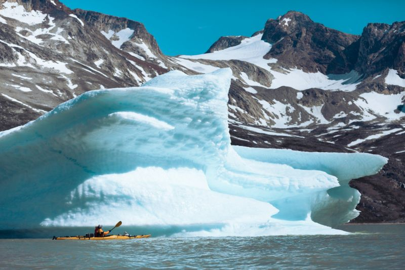 Kayaking East Greenland Hiking Tasiilaq