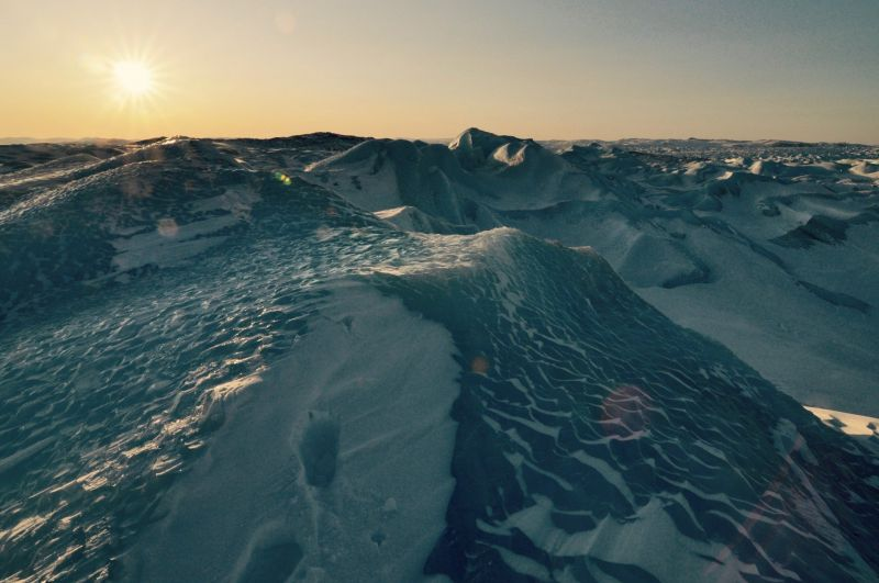 The massive Greenland ice sheet