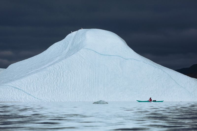 Kayaking from Ilulissat in Disko Bay