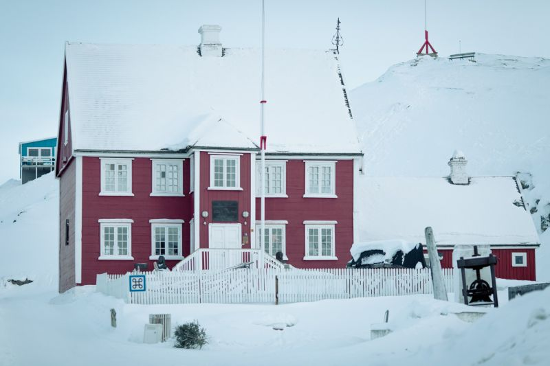 The museum in Ilulissat in Greenland