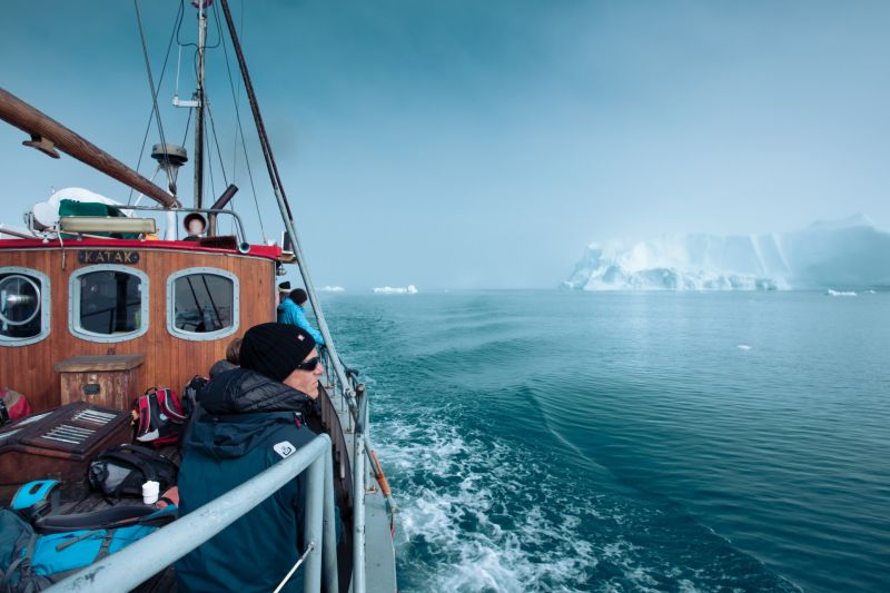 Iceberg sightseeing tour from Ilulissat