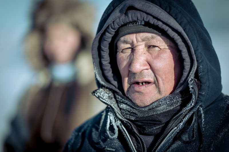 A local musher from Ilulissat